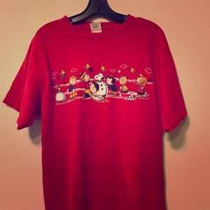 Charlie brown large graphic T